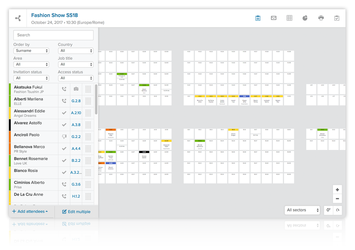 seating plan software